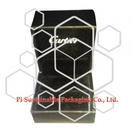 Cartier bespoke leather ring jewellery display packaging gift boxes wholesale