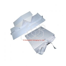 Eco friendly Cosmetic skincare packaging manufacturers provide foldable rigid gift boxes supplies design