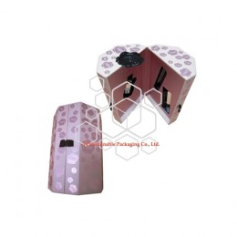 V&R custom luxury perfume and essential oil pearl paper packaging boxes UK design style for cosmetics sets