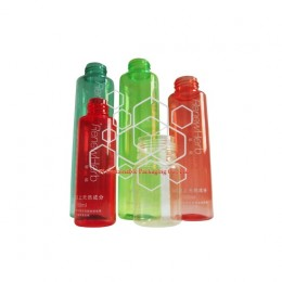 Custom eco friendly cosmetic skincare and perfume product packaging bottles made of biodegradable and compostable bioplastic