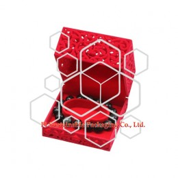 Mens unique plastic bracelet jewelry packaging gift boxes