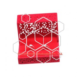 Personalized double ring jewelry packaging gift boxes