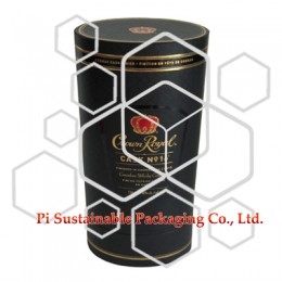 Wholesale wine packaging oval boxes supplies for Crown Royal