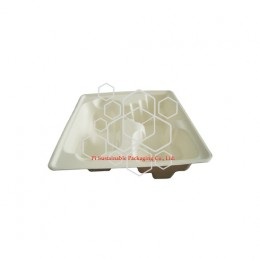Compostable electronic product industrial packaging
