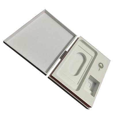 Appréciation de la conception de coffret cadeau de emballage ecologique et personnalisé pour téléphones mobiles électroniques.
