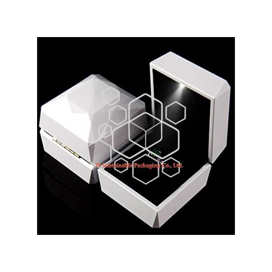 Boîtes d'Emballage de Luxe Bague Bijoux