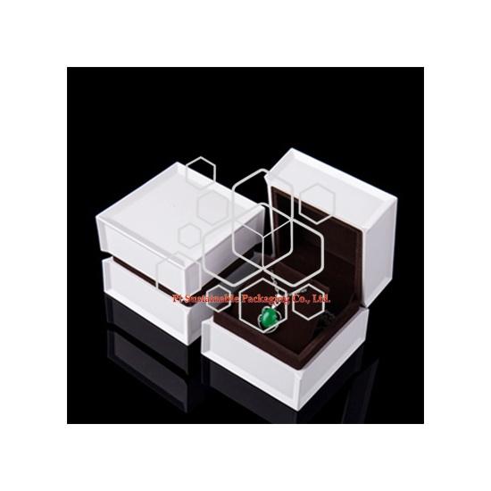 Cajas de embalaje de joyas de lujo personalizada