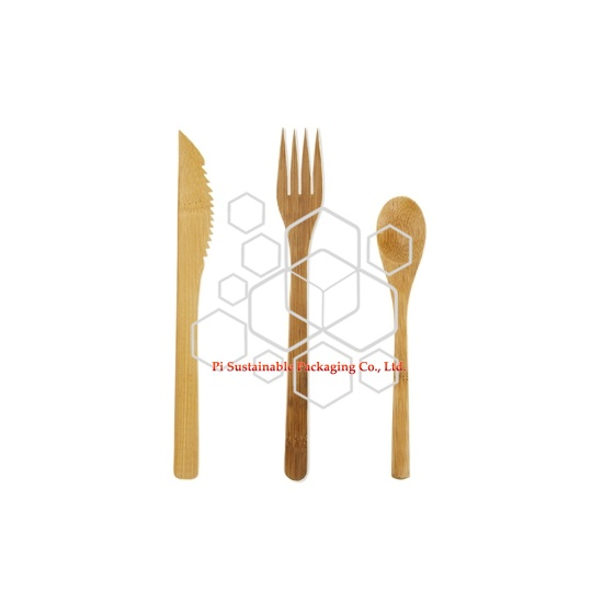 Am besten biologisch abbaubare & kompostierbare Bambus Einweg Hochzeit Besteck-set