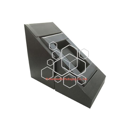 Personalizado cuero madera ver cajas de reloj de joyería embalaje display para hombres