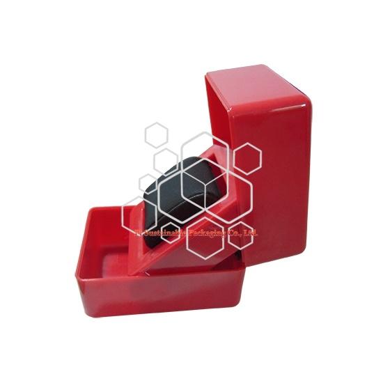 オーダーメイドのプラスチック時計ジュエリー ギフト ボックス