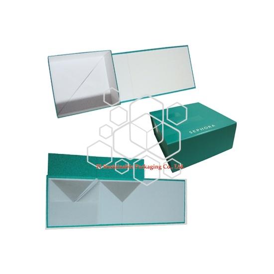 Boîtes personnalisé pliable emballage imprimé cosmétiques Sephora