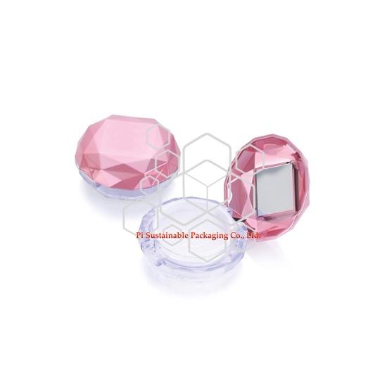 Marque de maquillage luxueux articles de maquillage emballage des boîtes en plastique haute lumière design original
