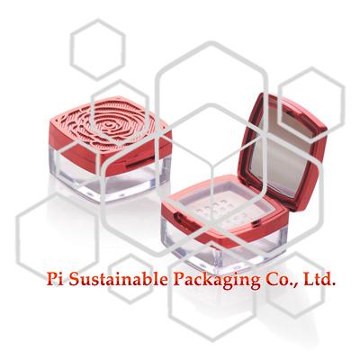 Vente en gros de boîtes en plastique pour maquillage personnalisé