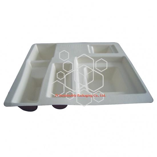 Hanhoo große kompostierbare Schutzverpackung Tray für Kosmetik Verpackung Geschenkboxen