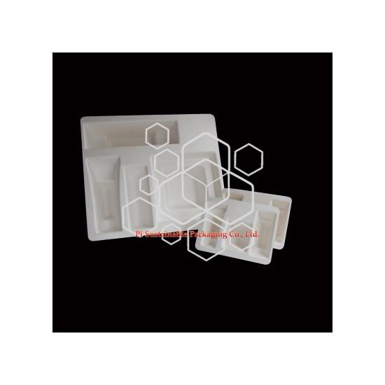 Maßgeschneiderte biologisch abbaubare Kosmetik Industrie-Verpackungen-Boxen für den Vertrieb