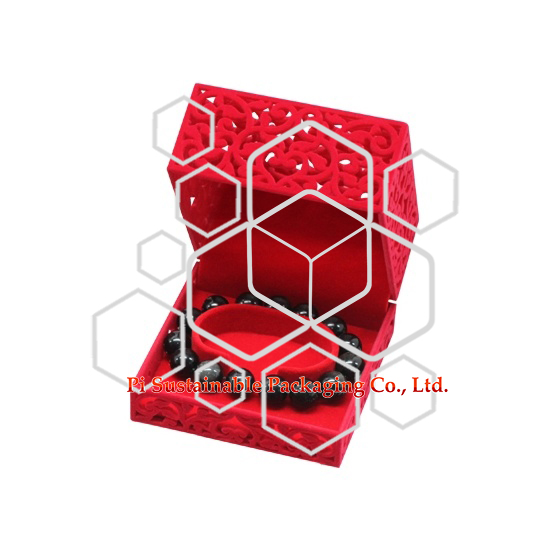 Boîtes à Mens bracelet en plastique unique bijoux emballage cadeau