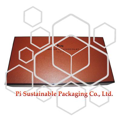 LA MAISON DU CHOCOLAT Vente en gros de bonbons carrés au chocolat emballés en boîtes vides