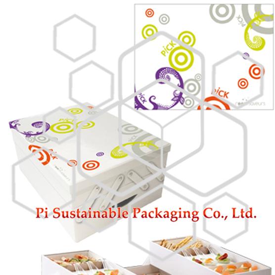 Room Saveurs personnalisés produit au détail alimentes boîtes fournitures