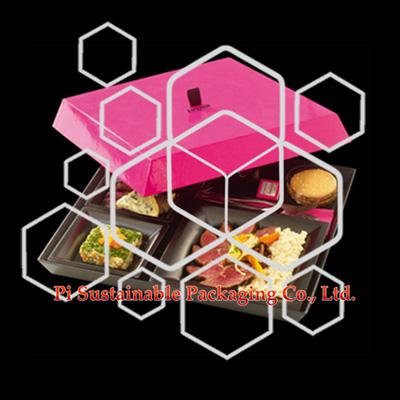 Único papel alimentos envases cajas de regalo por mayor para Fauchon
