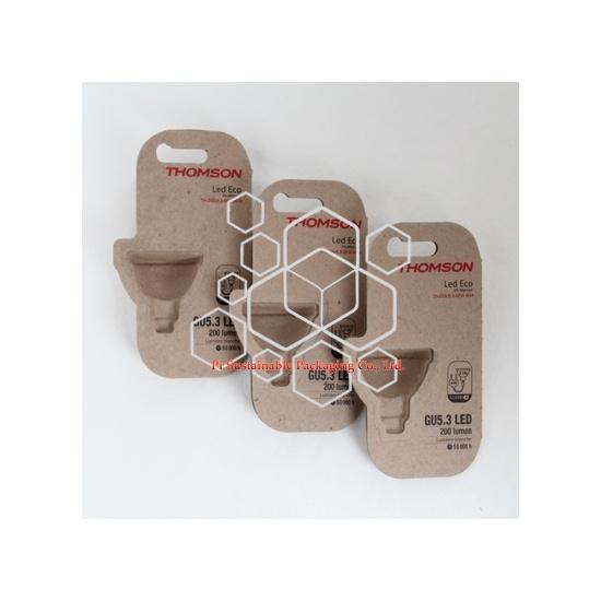 Eco personalizada cajas de embalaje de productos electrónicos para Thomson lámpara bulp