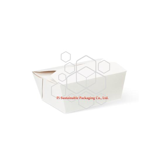 テイクアウト ペーパーの使い捨て可能な食糧容器