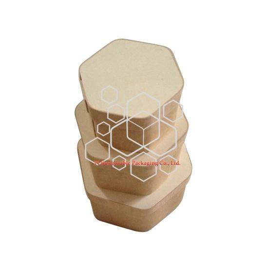 Cajas de embalaje de producto ecológico pequeña madera alimentos para la venta