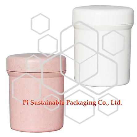 250 ml contenant d'emballage de produit cosmétique adapté à l'environnement en gros