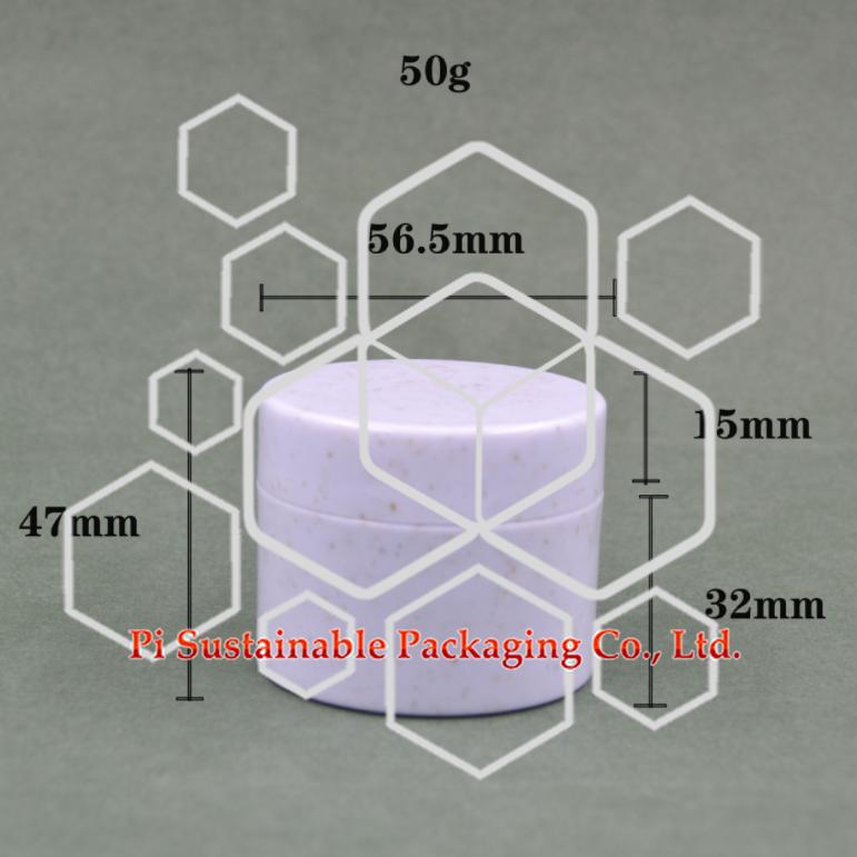 50ml Pot pour Emballage coffret cosmétique
