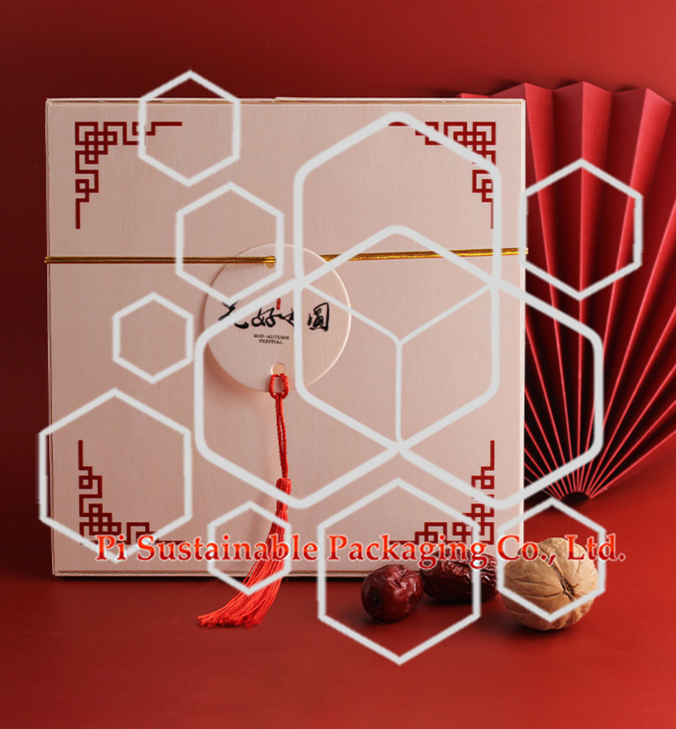 取り外し可能な環境に優しい食品級木質チョコレート容器 ボックス 包装